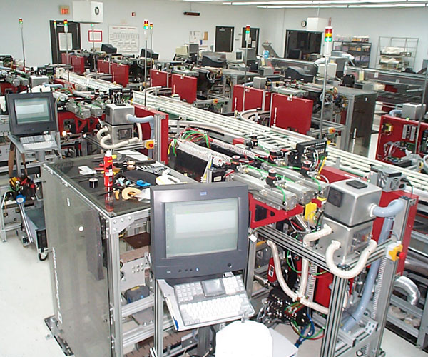 Industrial Production Automation